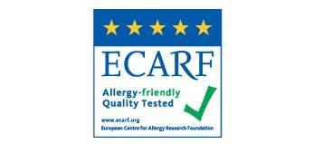 Poate fi utilizat de catre persoanele cu alergii, testat pentru calitate de ECARF